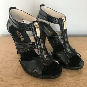 Michael Kors Berkley T-Strap Dress Sandals-Size 6